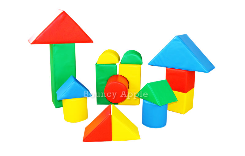Soft Play Shape Set 1 Hire Fulham | Wimbledon