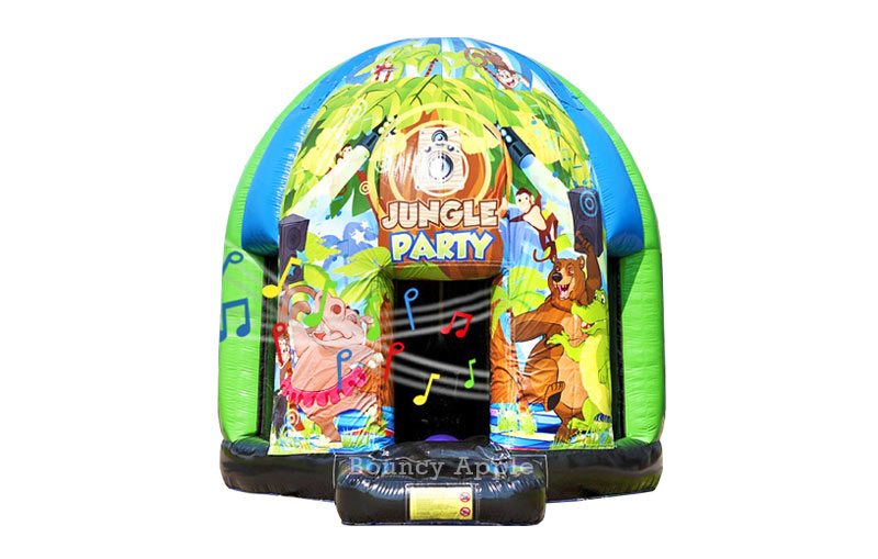 Large Disco Jungle Dome High Quality Bouncy Castles